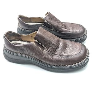 """BJORNDAL """"Voyage"""" Women's Leather Pebbled Loafers"""